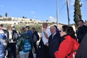 Pod Olivovou horou v Jeruzalémě